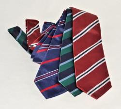 Cravatte in seta Regimental