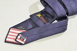 Cravatta in seta cucita a mano made in Italy